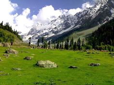 Situated at the confluence of the streams flowing from Lidder river and Sheshnag Lake inKashmir, Pahalgam isn't merely a hill-station. It is a recreation resort. Breathtaking vistas of meadows of Baisaran, beautiful snow-clad Himalayan mountains, combined with the gently flowing Lidder River makes Pahalgam a feast for the eyes.