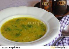 Cuketová polévka s kuskusem recept - TopRecepty.cz