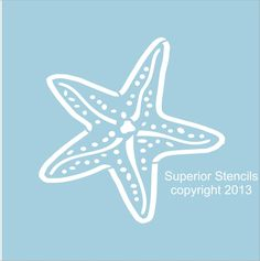 stencils of starfish - Google Search