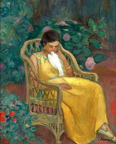 """alongtimealone:  Henri Lebasque (1865-1937) was a French post-impressionist and Intimist. Lebasque maintained an intense artistic exchange with young painters, especially Vuillard & Bonnard, the founders of the artists' associations """"Les Nabis"""" (the prophets) & the """"Intimists."""" In 1903, together with his friend Matisse & other artists, Henri Lebasque founded the """"Salon d'Automne. His portrayals of women & their children are colorful & intimate, full of the hope & joy of life."""