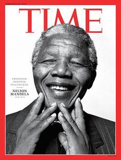 Sourires et poing levé: les unes de la presse internationale après le décès de Mandela | Slate.fr