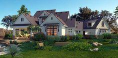 Plan 16853WG: Elegant Farmhouse Living