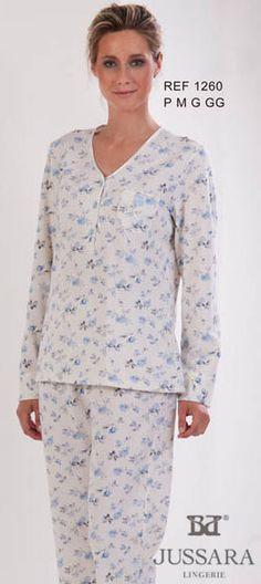 Pijama feminino Bordados Jussara 1260