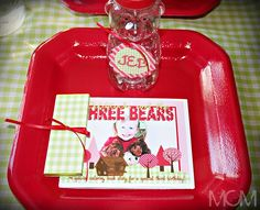 Goldilocks Birthday Party Ideas