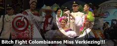 Bitch Fight Colombiaanse Miss Verkiezing!!!