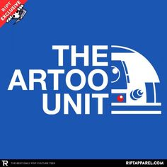 The Artoo Unit t-shirt