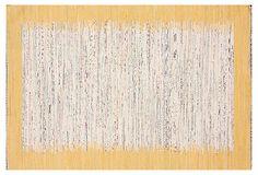 Sky Flat-Weave Rug, Marigold on OneKingsLane.com