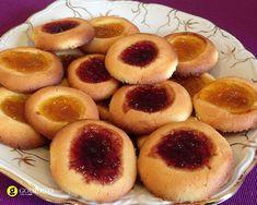 Μπισκότα βουτύρου με μαρμελάδα - Bufetti