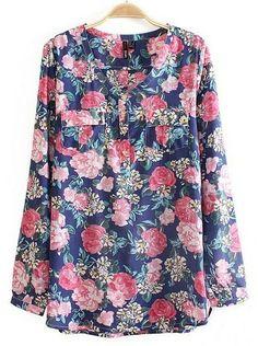 $11 www.katwear.com Wallis Flower Print Cotton Blouse