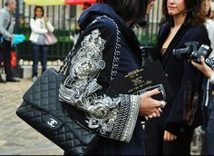 I've been dying over this bag for years so I finally bought it....Chanel jumbo in caviar w gold hardware! #love