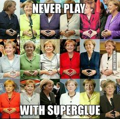 An advice from Angela Merkel