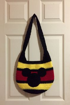 Mickey Mouse Crochet Bag