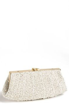 'Pearl Encrusted' Clutch