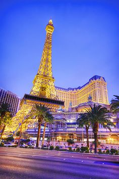 we went up the eiffel tower in vegas. great view of the bellagio water show from here