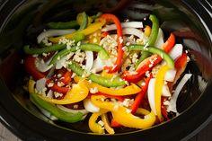 Slow Cooker Chicken Fajitas - Cooking Classy