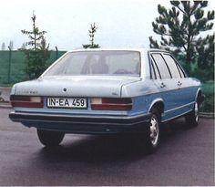 OG | 1976 Audi 100 C2 | Full-size prototype