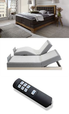 Hochwertiges Elektro-Boxspringbett für maximalen Komfort! | Betten.de #boxspringbett #hotelbett #schlafen #luxus http://www.betten.de/boxspringbett-elektromotor-180x200-aronia-elektro.html