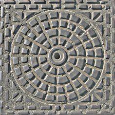 Manhole cover by PoProstuBono on deviantART