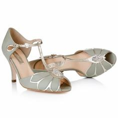 Mimosa Leather T Bar Wedding Shoes Pinterest Vintage Weddings And
