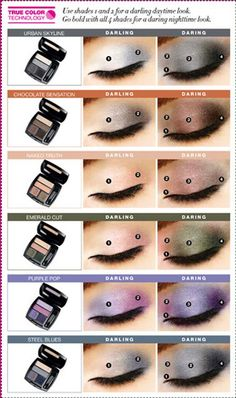 Avon True Colors Comes With How To Do Your Daytime Darling Look. Then The Night Time Daring Look. Each Pallet Of  Eye Shadows Comes Numbered. Shop Online And Get 10% Off Your First Order Use Code:WELCOME. Free Shipping Over $40.00. Updated Codes Located On My  Avon E-store. #Avon #Beauty # Eyeshadows #FreeShipping #Sales