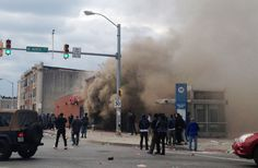 Baltimore riots erupt after Freddie Gray funeral: Stores looted, vehicles burned Baltimore riots  #Baltimoreriots