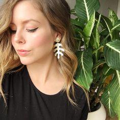 Matisse Earrings Matisse, Pearl Earrings, Ivory, Instagram Posts, Pink, Fashion, Moda, Pearl Studs, Fashion Styles