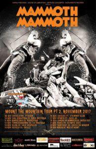 Mammoth Mammoth de gira por España