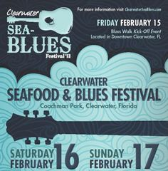 blues festivals 2013 | Clearwater Sea Blues Festival : MojoWax Media Inc