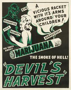 Anti-marijuana poster, 1942