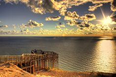 sleeping bear dunes, voted the most beautiful place in america
