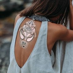 festival temporary tattoos//