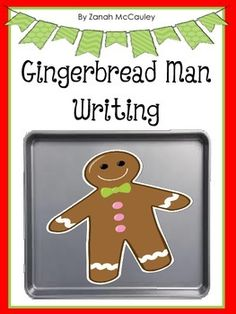 A cute writing activity that can be done after reading the book The Gingerbread Man.  This activity can be done at school or sent home.   Students will disguise their gingerbread to help him hide from everyone who is following him.  After the gingerbread man is disguised, the students will write a short story on how their gingerbread man got away.