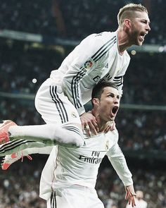 Sergio Ramos, Cristiano Ronaldo, CR7. Real Madrid.