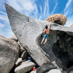Boosting in the Caribbean. Photo by Julie Ellison / Climbing Magazine. Survival Food, Survival Skills, Trekking, Jimmy Webb, Escalade, Kayak, Ice Climbing, Gap Year, Mountaineering