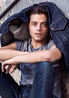 Rami Malek's photoshoot with the Riker Brother's in December 2013