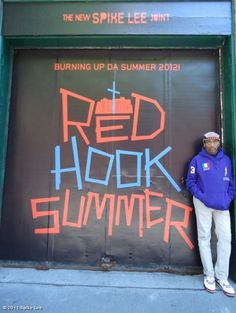 Movie poster for 'Red Hook Summer'.