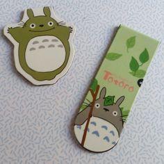 Marque page Totoro - Lilie dans les étoiles - Web Shop so cute
