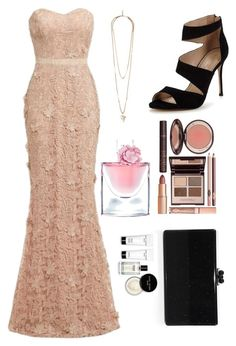 """For a date with Stefan Salvatore!!!"" by maria1991 on Polyvore featuring Carvela, Edie Parker, D.anna, Givenchy, Charlotte Tilbury, Lancôme and Bobbi Brown Cosmetics"