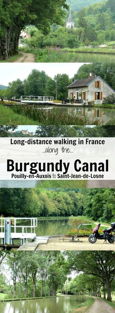 Discover France on a long-distance walk along the Burgundy Canal from Pouilly-en-Auxois to Saint-Jean-de-Losne.