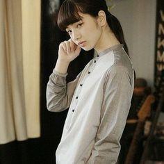 Instagram photo by komatsu7stagram - #小松菜奈 #nanakomatsu #palmmaison #model #fashion #cool