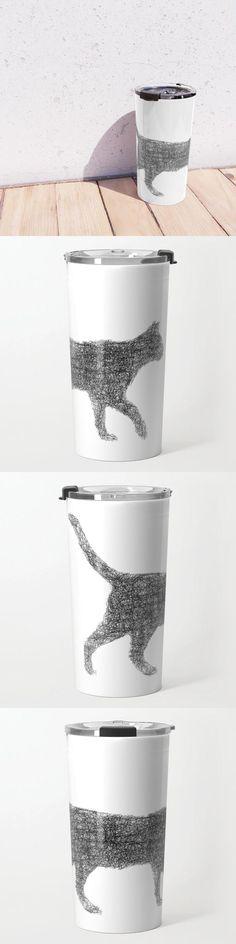 Dust Kitten Travel Mug by David Zydd #BestTravelMugs #Designer #Design #Leisure #Garden #Dust #Tabletop (tags: dust, lifestyle, decor, graphic, decoration, tableware, kitten, art, kitchen, product, home, print-on-demand, graphic design, artwork, arts, tabletop, christmas)