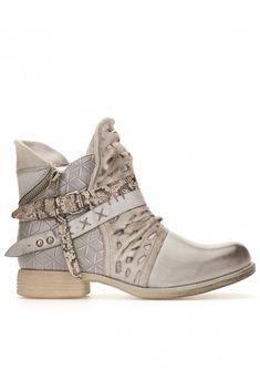 4d794d659415bf Boots revers à billes - gris | CHAUSSURES BON PRIX | Bottines femme ...