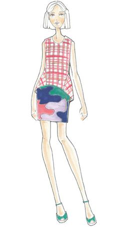 Pantone: Fashion Color Report Spring 2013 - Poppy Red, Monaco Blue & African Violet by Lela Rose 2013 Spring Fashion Trend