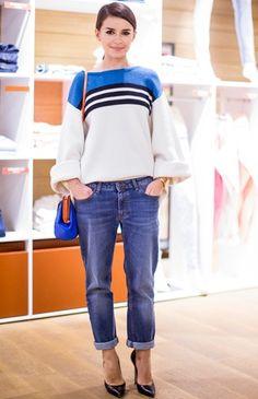 Mira Duma casual jeans & sweater