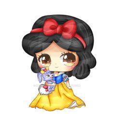 A Berry so sweet - Snow White by KawaiiiJackiiie.deviantart.com on @DeviantArt