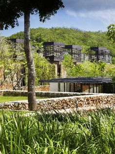 Well integrated Pool Villas at Alila Villas Uluwatu in Bali by WOHA