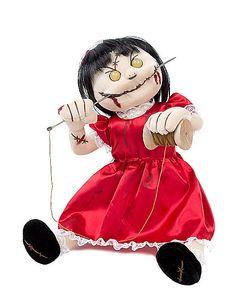 Evil Rag Doll - Spirithalloween.com - I ordered her today!  So excited!