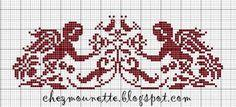 Deze lieve engeltjes kun je als gratis patroontje vinden op het blog van Mounette . These sweet little angels are a free pattern from Moun...