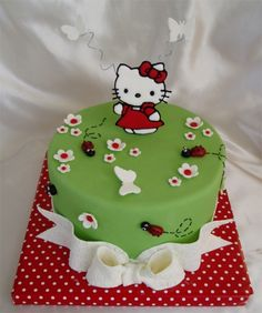 Hello Kitty  By cakehelp on CakeCentral.com