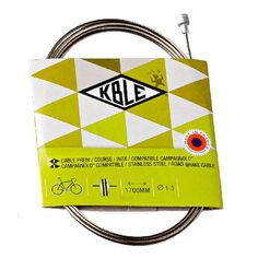 Transfil Campagnolo Road Brake Cable Inner Transfil is situated in the heart of France, at the base of the volcanoes where nature thrives in splendor. This region is also a genuine ground for innovation and know-how. Deversity of pleasures, di http://www.MightGet.com/january-2017-11/transfil-campagnolo-road-brake-cable-inner.asp